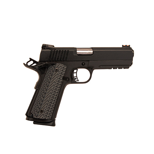 Rock Island Armory Pistol Rock Island Armory M1911-A1 MS withPicRail 22TCM/9mm Luger 10rd 51963
