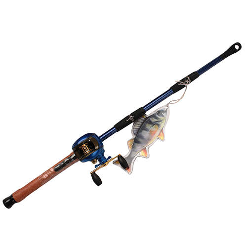 Rivers Edge Products Rivers Edge Products 16 Piece Lighter Display Baitcast Rod/Reel 21055