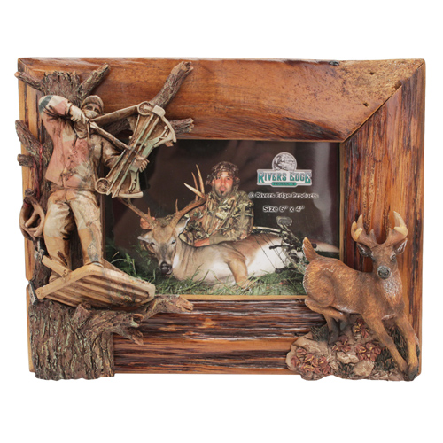 Rivers Edge Products Picture Frame Deer/Archer Firwood