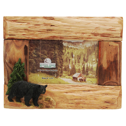 Rivers Edge Products Picture Frame Bear 4