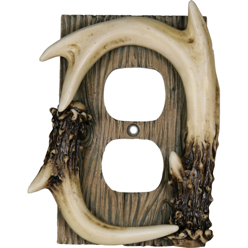 Rivers Edge Products Receptical Cover Deer Antler