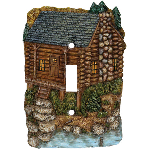 Rivers Edge Products Rivers Edge Products Single Switch Cover Cabin 620