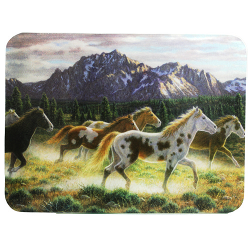 Rivers Edge Products Rivers Edge Products Cutting Board Horse, In Mountains 733