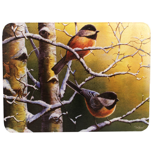 Rivers Edge Products Rivers Edge Products Cutting Board Chickadees 734