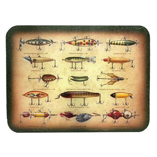 Rivers Edge Products Cutting Board Antique Lure