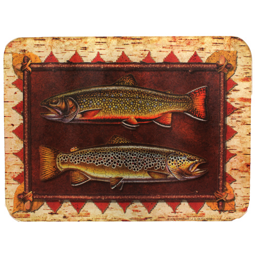 Rivers Edge Products Cutting Board Trout 745