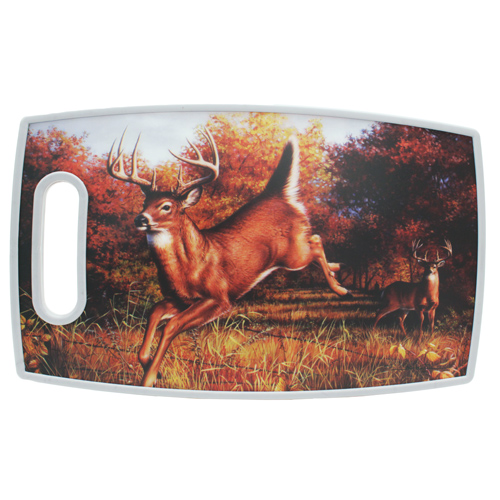 Rivers Edge Products Cutting Board Rectangular, Deer