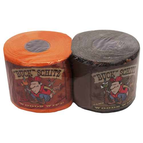 Rivers Edge Products Rivers Edge Products Toilet Paper 2 Pack, Camo & Orange (Per 12) 832