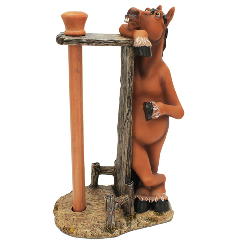Rivers Edge Products Paper Towel Holder Horse