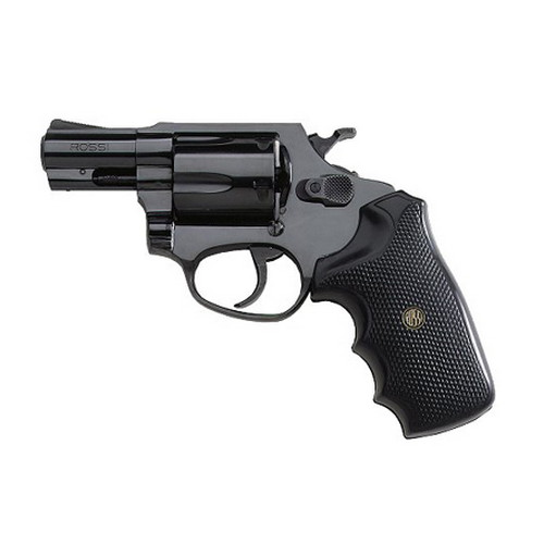 Rossi Revolver Rossi M351 .38 Special, Blue/Rubber Grips, Fixed Sight, 2