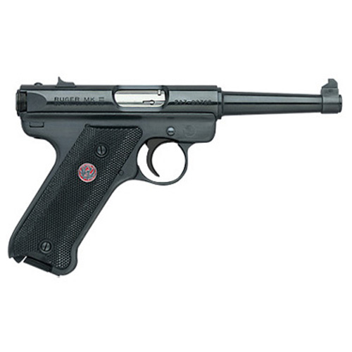 Ruger Pistol Ruger Mark III MKIII 22 Long Rifle 4.75