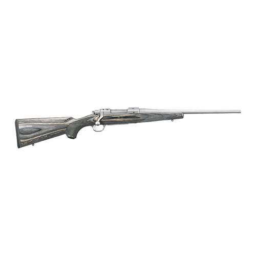 Ruger Rifle Ruger HKM77CRBBZ 243 Winchester 16.5 Laminate/Stainless Steel 4 Round 17108