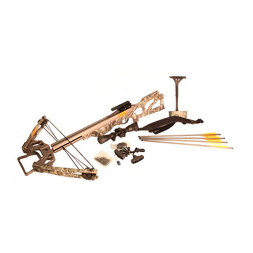 SA Sports Outdoor Gear Crossbow Package Vendetta, 200 lb Compound