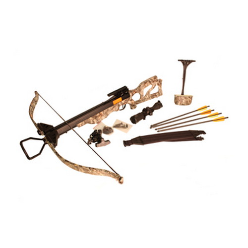 SA Sports Outdoor Gear Crossbow Package Crusader, 225 lb Recurve