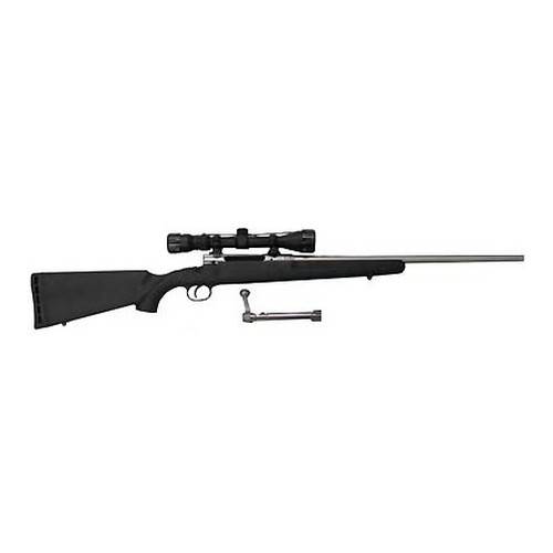 Savage Arms Rifle Savage Arms AXIS XP Stainless Steel, with Scope 243 Winchester 19176