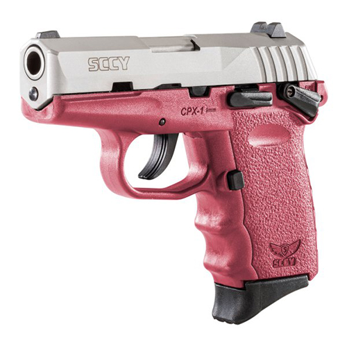 SCCY Pistol CPX-1 9mm SS/Crimson Safety 10 Rd