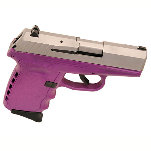 SCCY Pistol SCCY CPX-2 9mm Luger DAO witho Safety SS/Purple 10rd CPX-2 TTPU