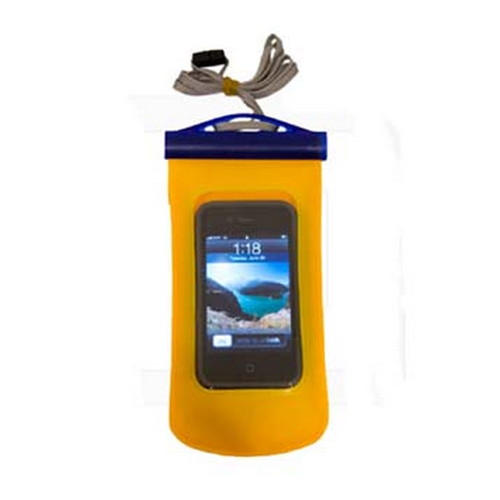 Seattle Sports Seattle Sports E-Merse Dry Padded Cell Phone, Large Yellow 042226