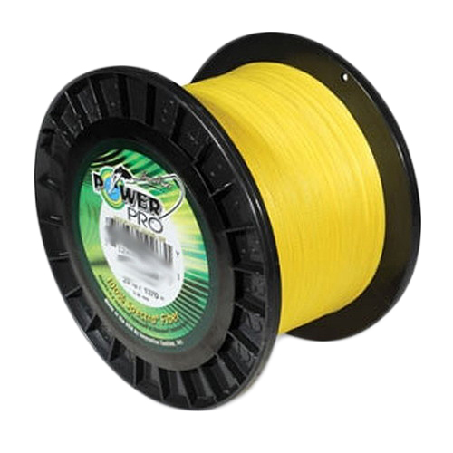 Shimano PowerPro Microfil Line 100 lb, 1500 Yards Hi-Vis Yellow