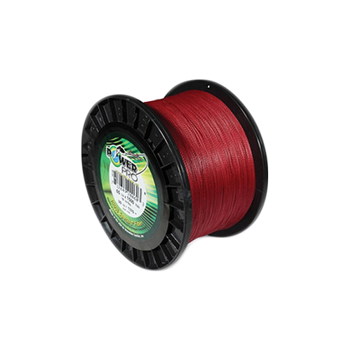 Shimano Shimano PowerPro Microfil Line 40 lb, 1500 Yards Vermillion Red 21100401500V