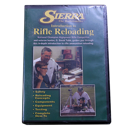 Sierra Reloading DVD Beginning Rifle