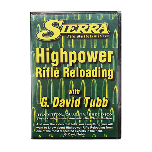 Sierra Sierra Reloading DVD Advanced Rifle 0099DVD