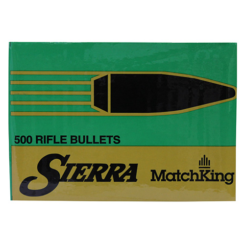 Sierra 6.5mm/264 Caliber 142 Gr HPBT Match (Per 100)