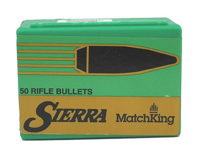 Sierra,Bullets,hollow point, boat tail, .338,338 Caliber