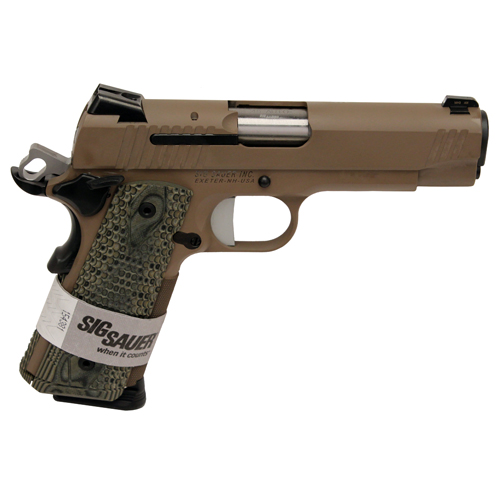 Sig Sauer 1911 Carry SCORPION 45ACP SIG NS 8rd