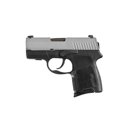 "Sig Sauer P290 Two-Tone 380 ACP 2.9"" Barrel 6 Round Polymer Black Semi Automatic Pistol 290RS-380-TSS"