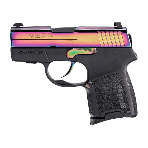 Pistol Sig Sauer P290 9mm Luger Rainbow Ti Finish SIG NS 8rd 290RS-9-RB