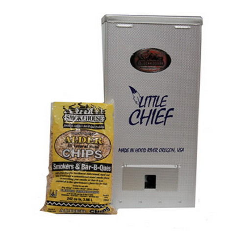 Smokehouse Product Smokehouse Product Little Chief 250W Top Load 25lb Capacity, Silver 9800-000-0000