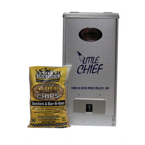 Smokehouse Product Smokehouse Product Little Chief 250W Front Load 25lb Capacity, Silver 9900-000-0000