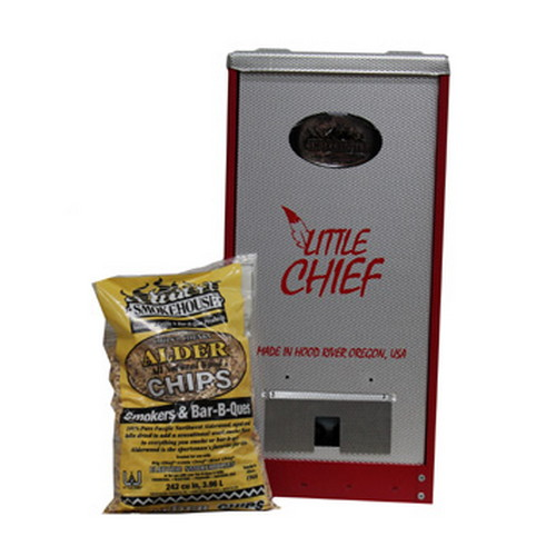 Smokehouse Product Smokehouse Product Little Chief 250W Front Load 25lb Capacity, Red 9900-000-0RED