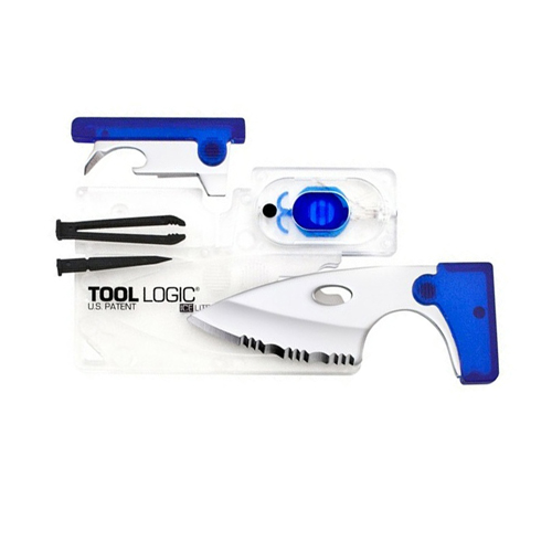 SOG Knives SOG Knives ICE Lite I with LED Light - Clear/Blue ICC2B