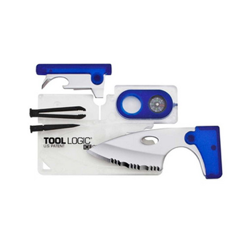 SOG Knives ICE Companion w/Lens/Compass-Clear/Blue