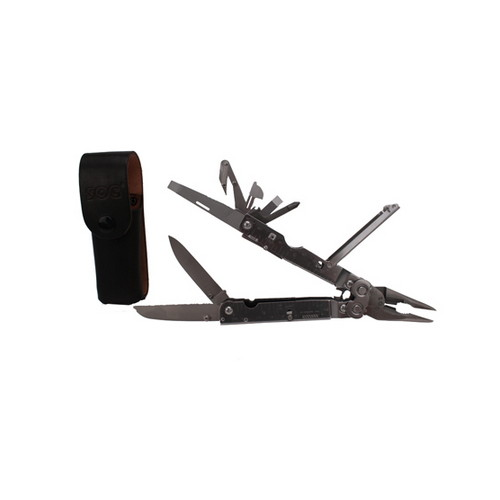 SOG Knives SOG Knives Multitool PowerAssist, Leather Sheath S66-L