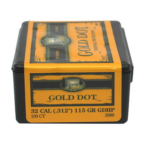 Speer Gold Dot .327 Federal Magnum 115gr (Per 100)