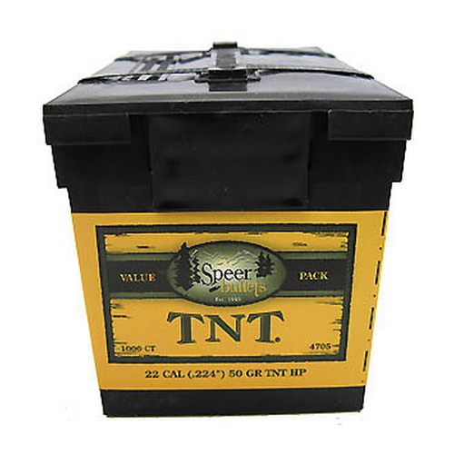 Speer Speer 22 Caliber (.224) 50 Gr TNT HP Value Pack/1000 4705