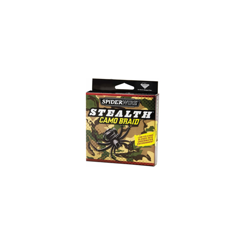 Spiderwire Spiderwire Stealth Braid Line, Camo 65 lb, 125 Yards 1140999
