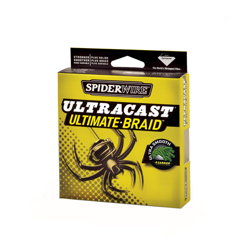 Spiderwire Ultracast Line, Green 20 lb, 125 Yards 1275091