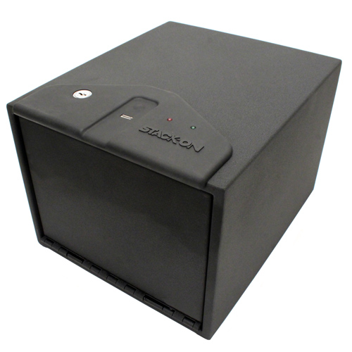Stack-On Stack-On Quick Access Safe w/Biometric Lock, Shelf QAS-1200-B
