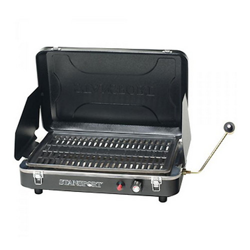 Stansport Portable Propane Grill Stove, Black