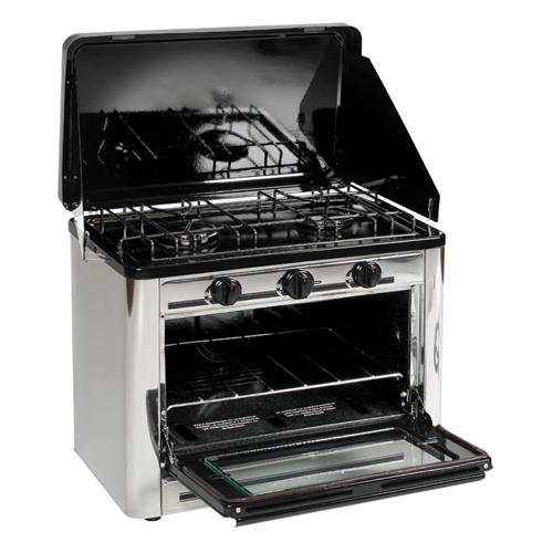 Stansport Stansport Stainless Steel Outdoor Stove and Oven 221