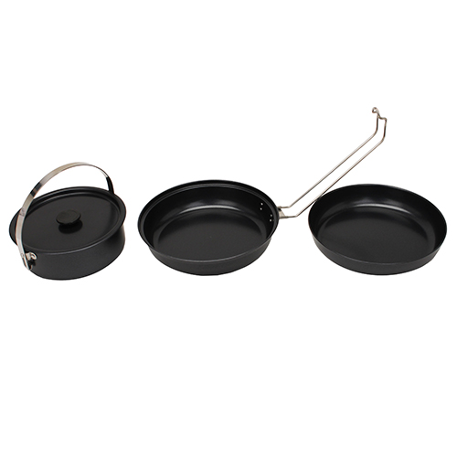 Stansport Stansport Black Granite Mess Kit 360-20