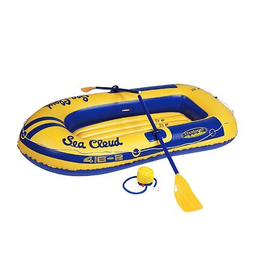 Stansport Stansport Sea Cloud 2-Person Boat, Blue/Yellow 416-2K