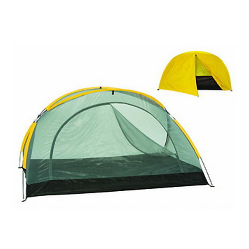 Stansport Star-Lite 2-Person w/Fly Fiber Glass, Yellow