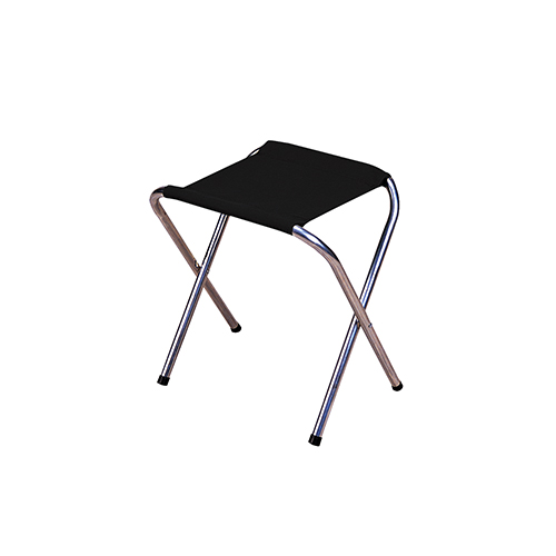 Stansport Stansport Camp Stool, Aluminum - Black G-613-S