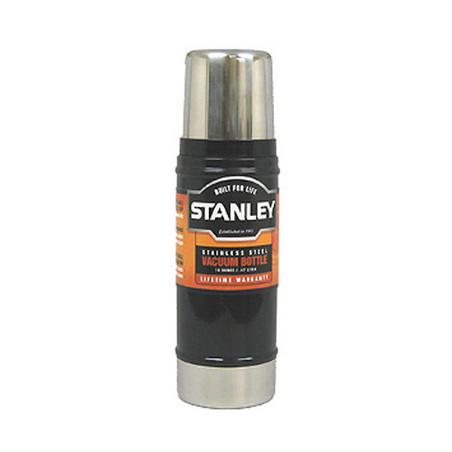 Stanley Vacuum Bottle 0.5 Quart, Black