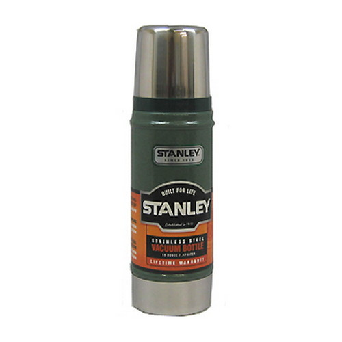 Stanley Vacuum Bottle 0.5 Quart, Hammertone Green